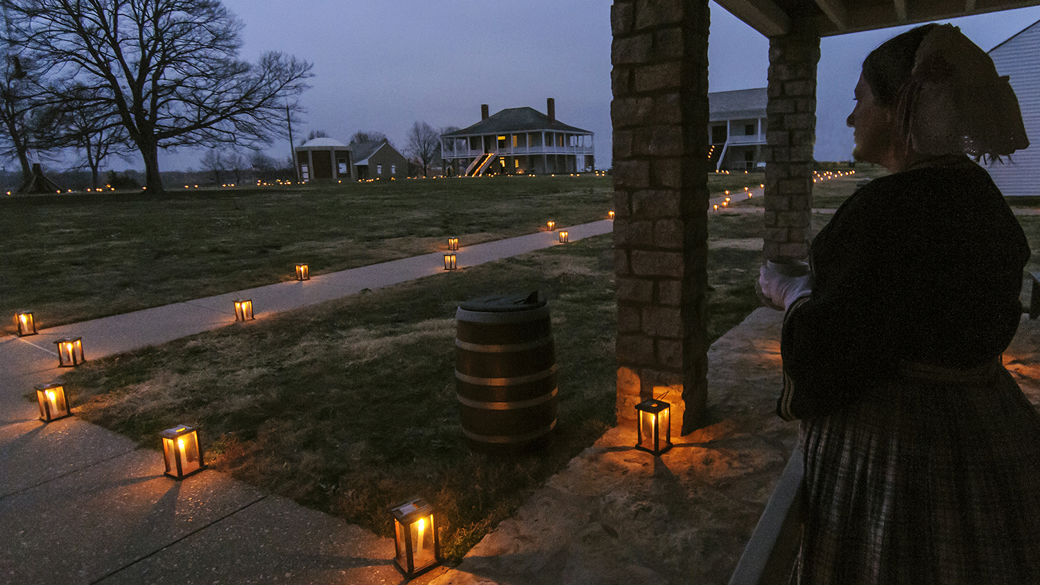 Fort Scott National Historic Site Candlelight Tour